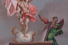 Fastenkrippe Auferstehung