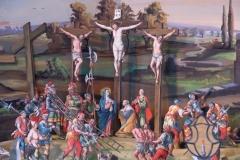 Fastenkrippe Jesus am Kreuz
