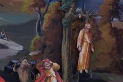 Fastenkrippe Judas erhaengt sich