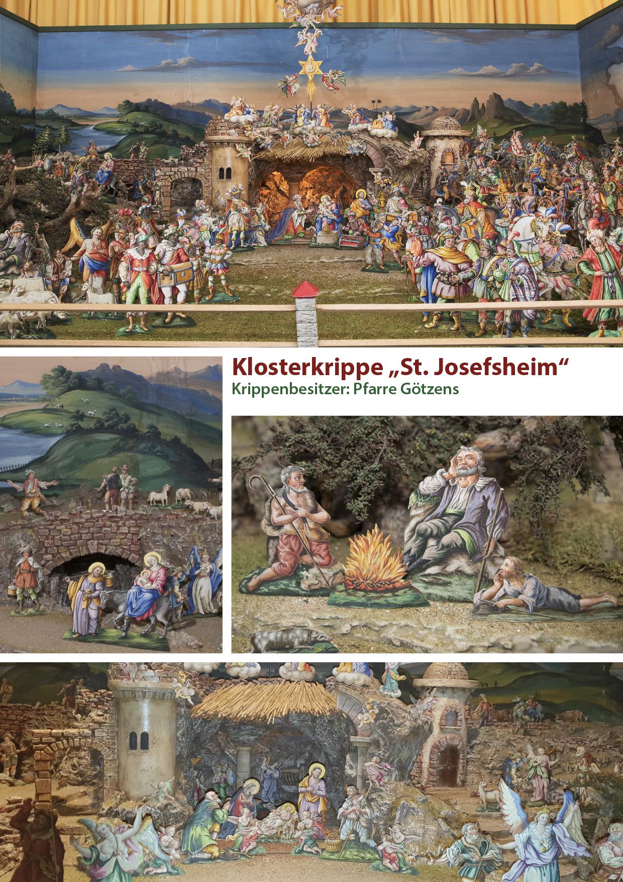 Klosterkrippe - St. Josefsheim